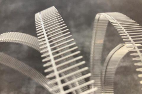 Stanzband in Mattzinn Oberfläche durch Bandbeschichtung